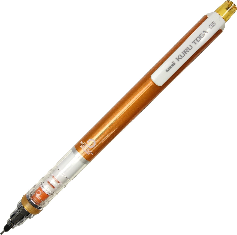 三菱鉛筆 シャープペン クルトガ 0.5 オレンジ M54501P.4
