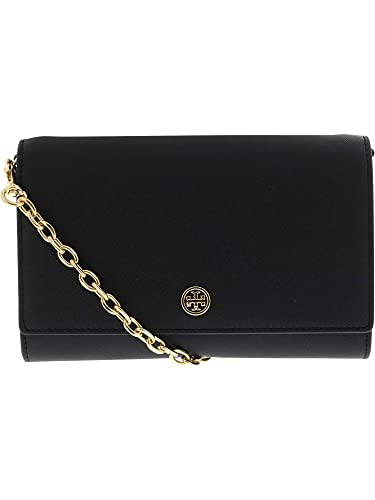 d0bae457fe8 Amazon.com  Tory Burch Women s Robinson Wallet on a Chain