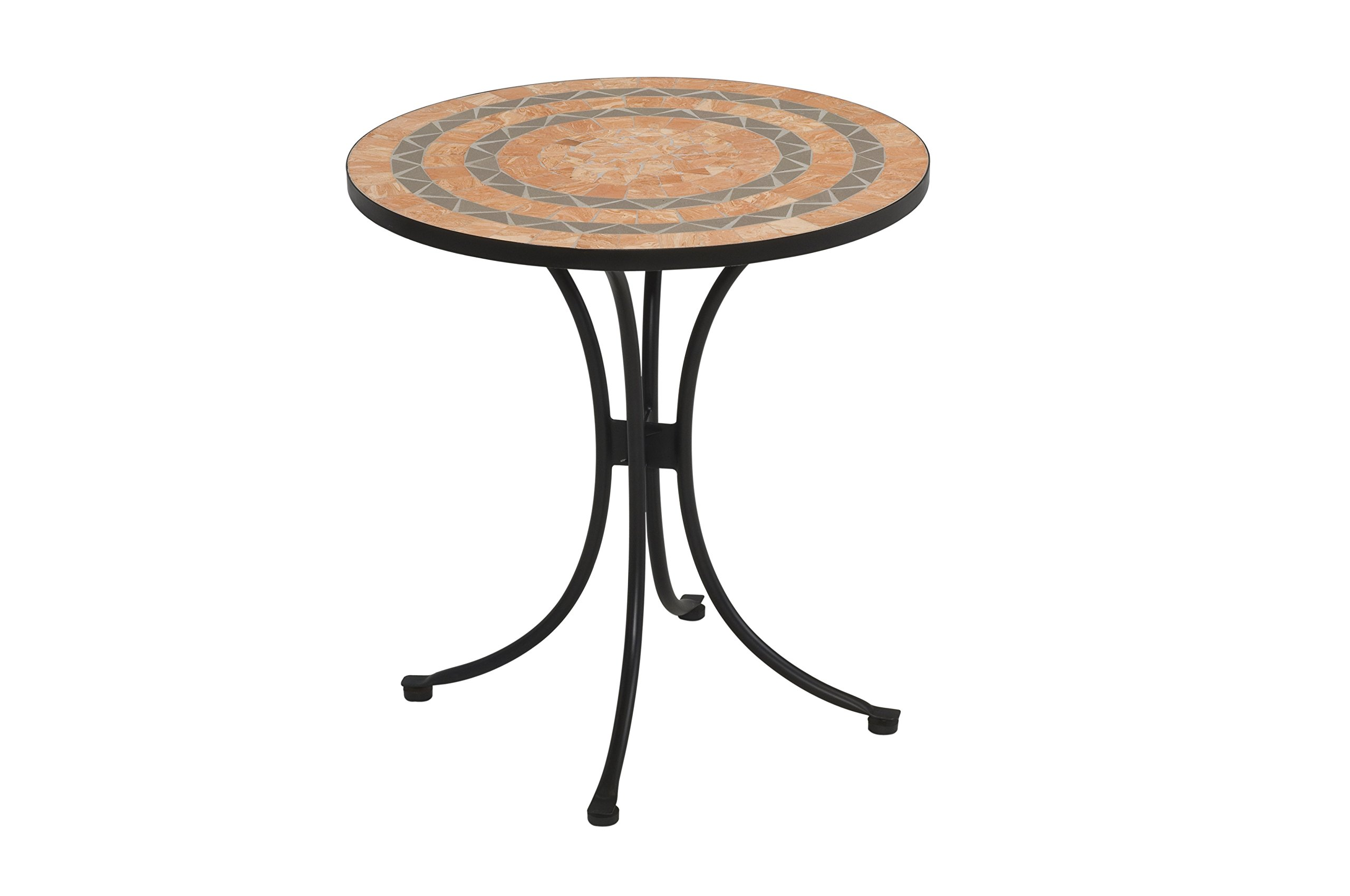 Home Styles 5603-34 Bistro Terra Cotta Tile Top Dining Table