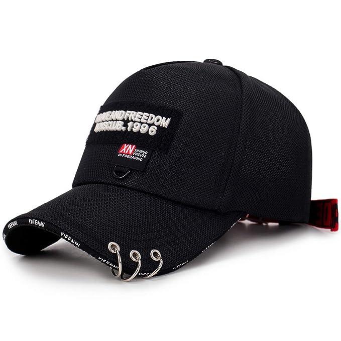 144b603f2c53e XINBONG Baseball Cap Breathable Adjustable Cap Casual Leisure Hats Letter  Fashion Summer hat Black