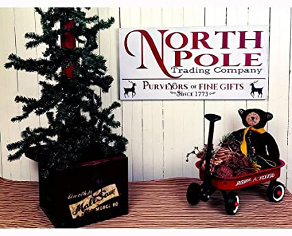 north pole sign christmas decorations for fireplace mantel decor christmas decor signs holiday decorations christmas decorations - Christmas Pole Decorations