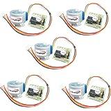 HiLetgo® 5個セット 5V ステッピングモータ+ ULN2003ドライバーボード セット [並行輸入品]
