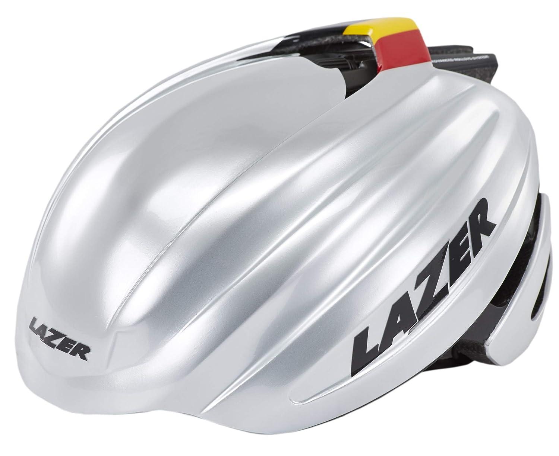 Lazer Z1 Fast Helm Silber schwarz 2016 Fahrradhelm