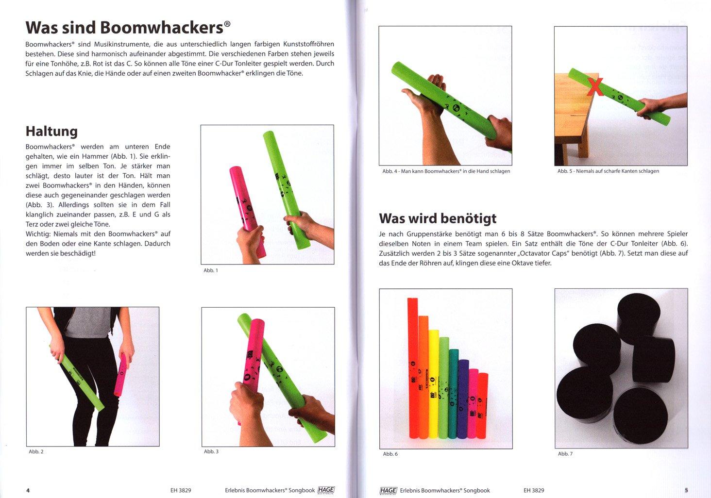 /pour tous les /âges./ Exp/érience Boomwhackers/® Songbook/ /10/morceaux moderne dans diff/érents styles/ /Avec CD MP3/&nbs /Sans vorkenntnisse Boomwhackers/® jouer/
