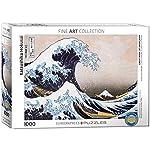 EuroGraphics Rompecabezas Great Wave Kanagawa de Hokusai (1000 Piezas)