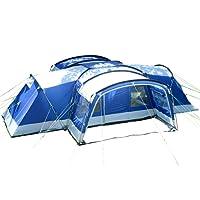 Skandika Nimbus 12 - Tente de camping familiale - 12 personnes - 630 x 760 cm