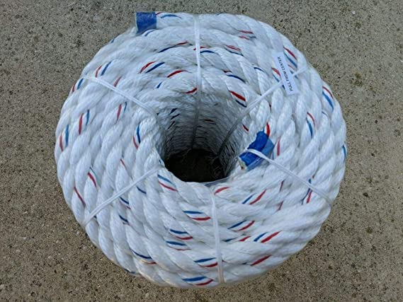 "5//8/"" x  150 ARBORIST//TREE  BULL ROPE TIE-DOWN Safety FREE SHIPPING"