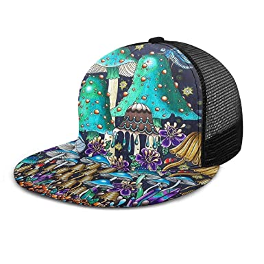 Coloridas Setas y Flores Ajustable Cowboy Denim Hat Unisex Hip Hop ...