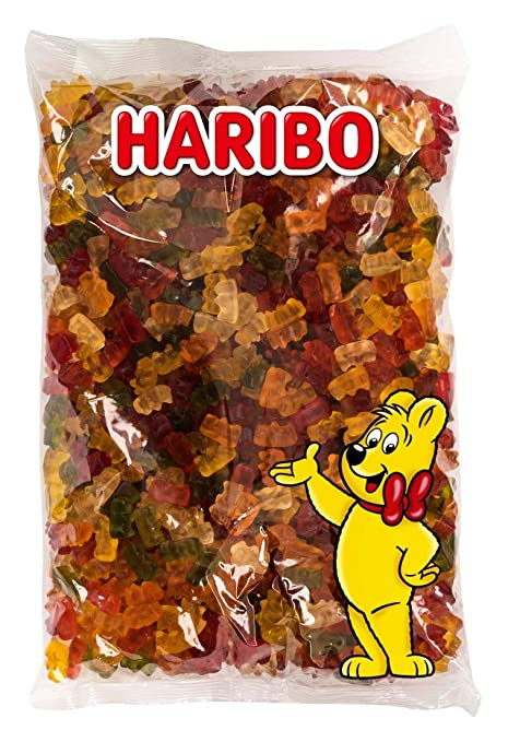 Haribo Osos Dorados, Gomitas de Fruta, Gominolas, Ositos de ...
