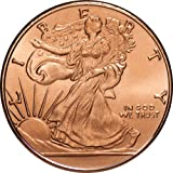 Walking Liberty 1 oz .999 Copper Round by Private Mint