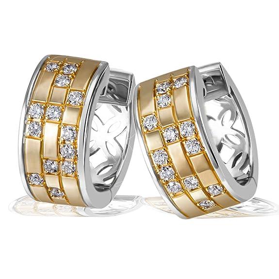 Goldmaid Pendientes de Mujer de plata con Corte Brillante Redondo Circonitahttps://amzn.to/33Cfctb