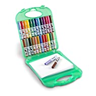 Crayola Pip-Squeaks Washable Markers & Paper Set, Kids Travel Activities, Ages 4, 5, 6, 7