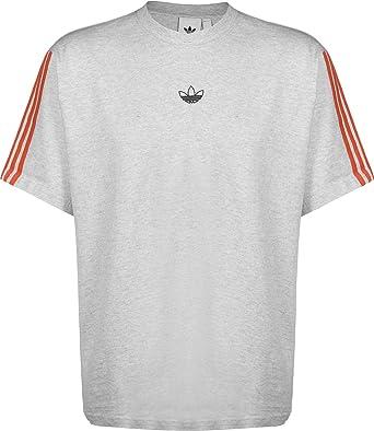 T Shirt Adidas Floating Trefoil Gris FR M: