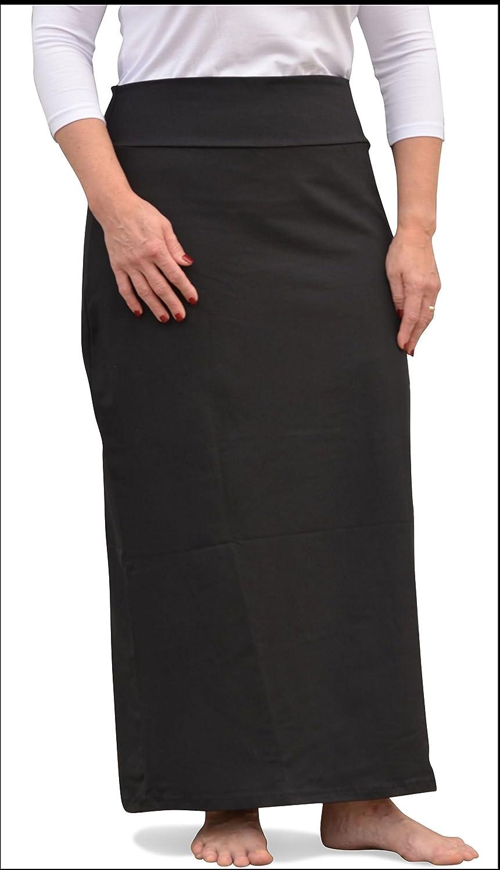 Kosher Casual SKIRT レディース B01L03V8P6 3L|ブラック ブラック 3L