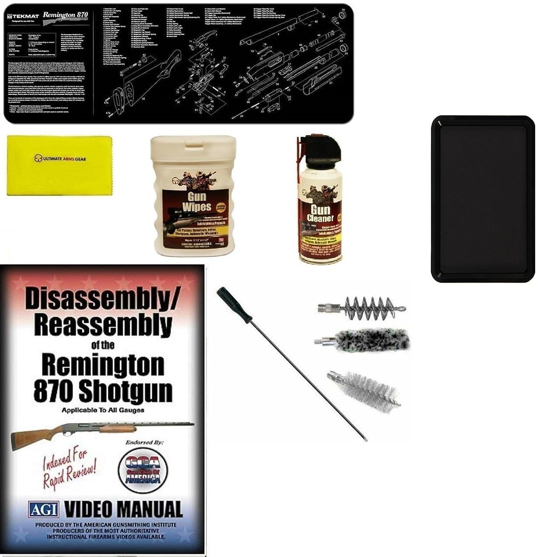 Ultimate Arms Gear Agi Dvd Course Remington 870 12 Ga Parts Diagram To Download Shotgun Gunsmith Mat Gauge Cleaning Kit Bore Gun Rod Brushes Spray