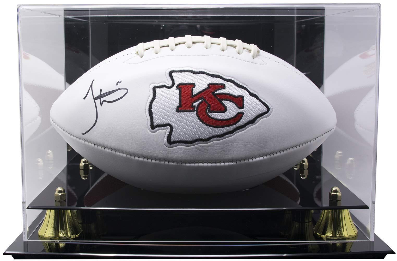 Tyreek Hill Signed Chiefs Logo Football JSA w/Deluxe Acrylic Case