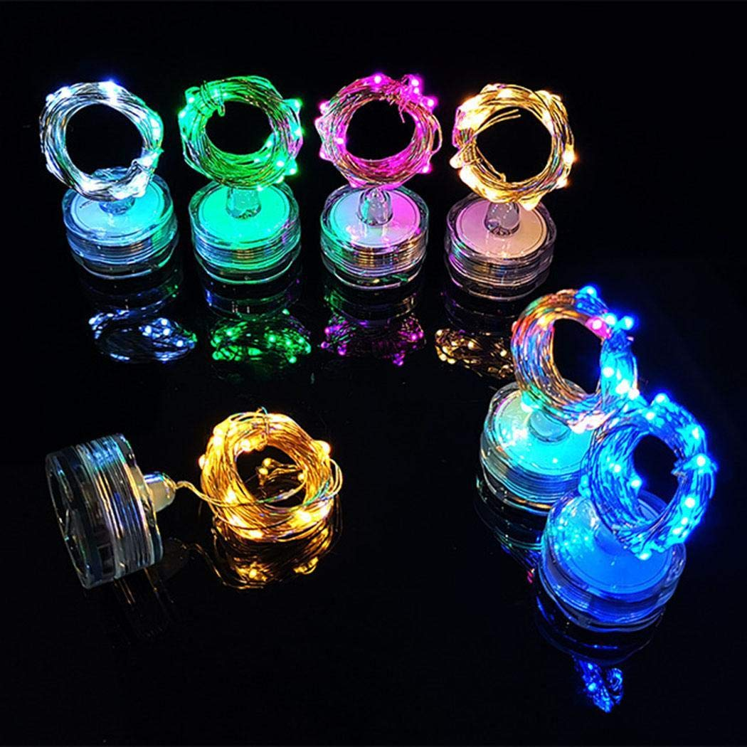Qiopes Waterproof Energy-saving Plum Blossom Shape LED Fairy String Lights Outdoor String Lights