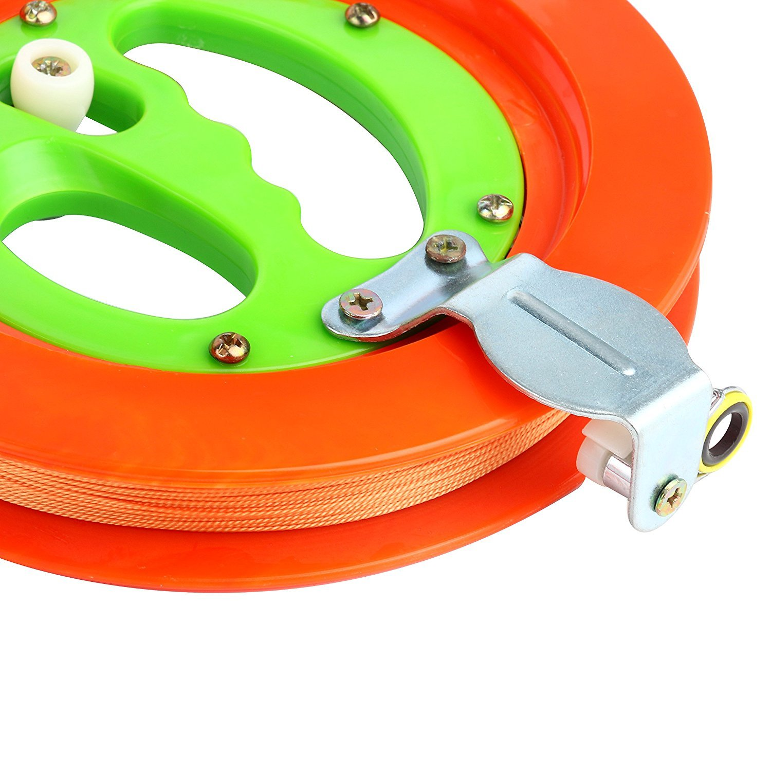 YaeTact Professional Reel Winder with Strong Kevlar Line 7 inch Diameter with 500FT Line