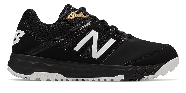 [New Balance(ニューバランス)] 靴シューズ メンズ野球 3000v4 Turf Synthetic Black with Black ブラック ブラック US 8 (26cm) B07FRZL42W