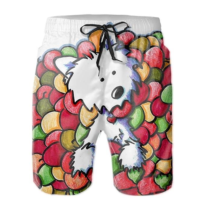 TRSL Pineapple Mens Beachwear Quick Dry Beach Shorts Fashion Watershort