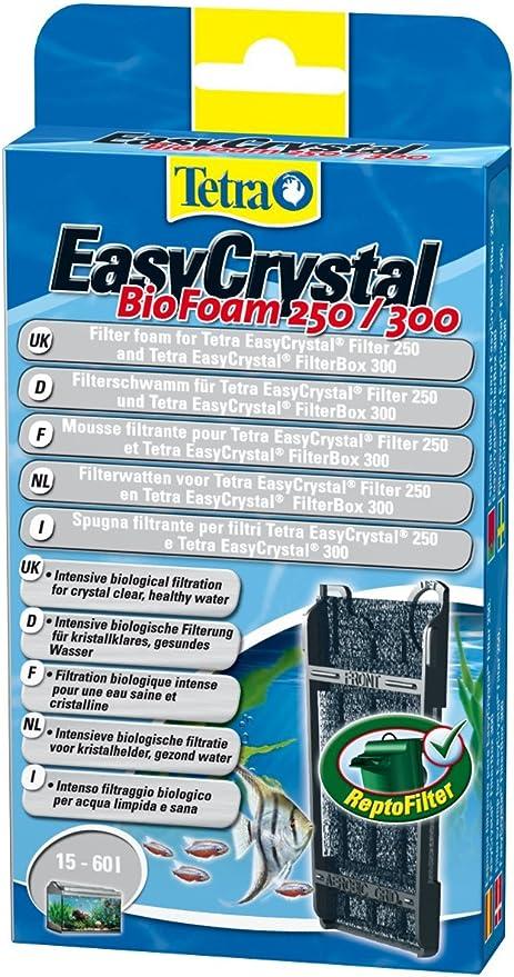 Tetra EasyCrystal BioFoam 250/300: Amazon.es: Productos para mascotas