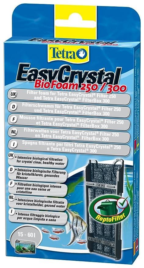 9 opinioni per Tetra EasyCrystal Filter BioFoam 250/300