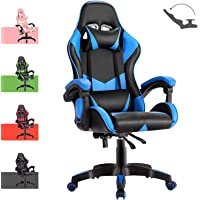 Advwin Gaming Chair Racing Style, Ergonomic Design Reclining Executive Computer Office Chair, Relieve Fatigue (135…