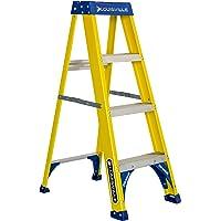Louisville Ladder FS2004 Fiberglass Step Ladder, 4-Feet/250lb