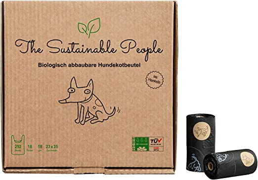 TSP bio de hundekot Bolsa Premium – con asas – OK Compost Home ...