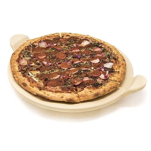 Alpha Living - Piedra de Pizza Redonda con Mango para Horno o ...