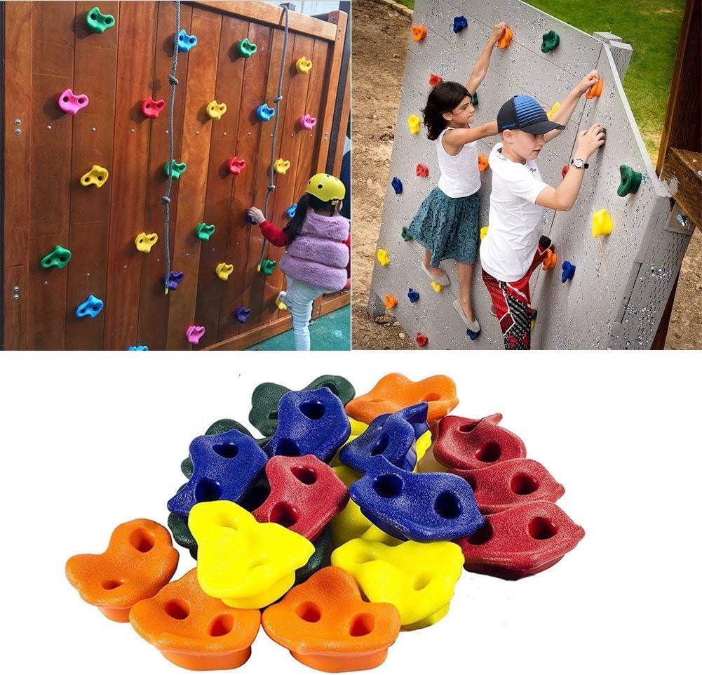 Escalada para niños y niñas con soporte para colgar en la ...