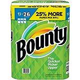 Bounty Select-a-Size Paper Towels, White, 12 Huge Rolls = 26 Regular Rolls