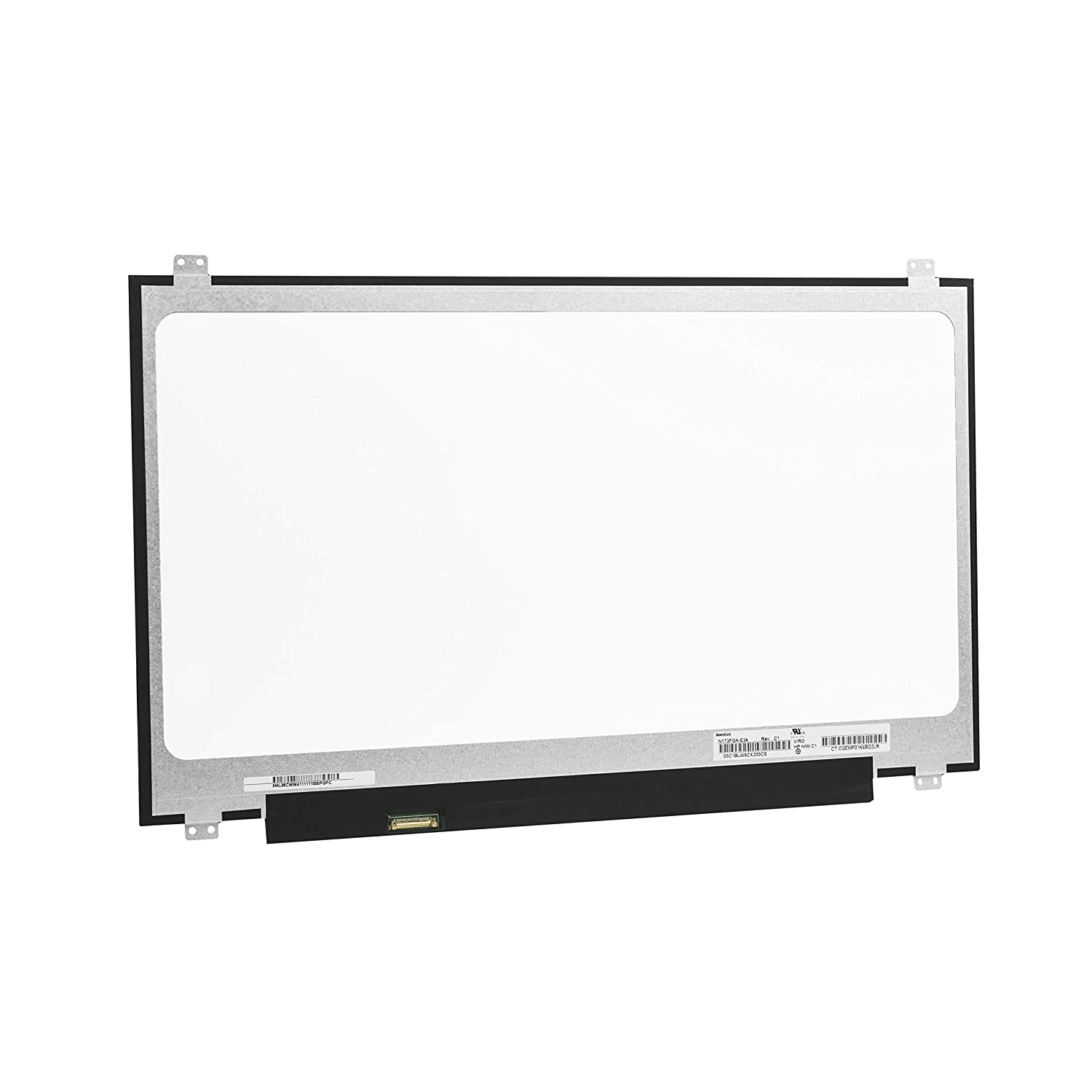 Screen Replacement for Laptop Acer TravelMate P259 P259-G2-M P259-G2-MG P259-M 15.6 LED Backlit Display HD 1366x768 Screen Slim 30 pin eDP Matte