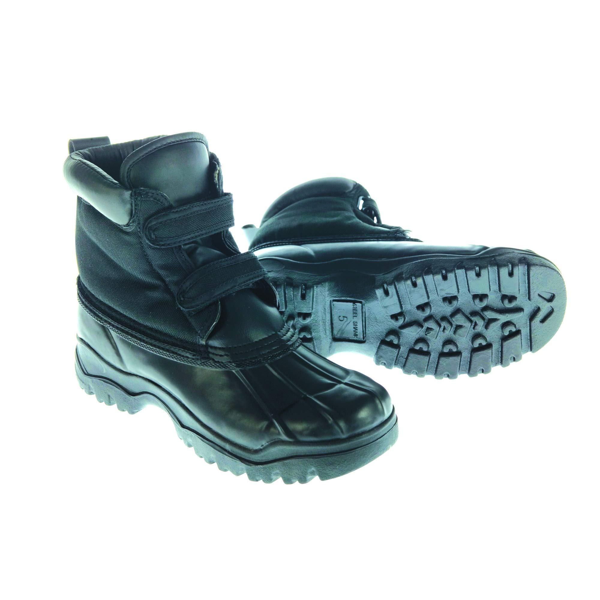 Dublin Childrens/Kids Yardmaster Touch Tape Boots (13 M US Little Kid) (Black)