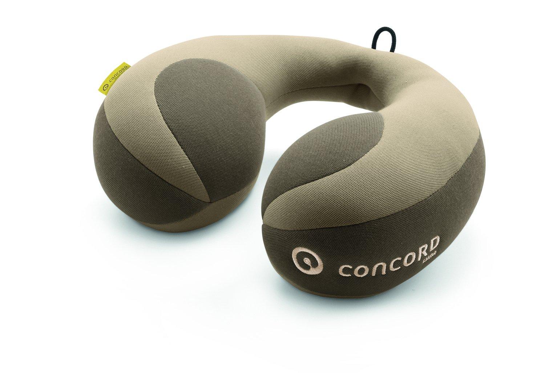 Almohada de viaje cervical Concord Luna color cool beige