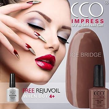 Official Professional Cco Uv Led Soak Off Nail Art Gel Polish Full
