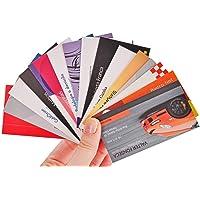 1.000 Cartões de Visita Couchê 250g Colorido Frente e Verso Tamanho 8,8x4,8 Verniz UV Frente de Proteção