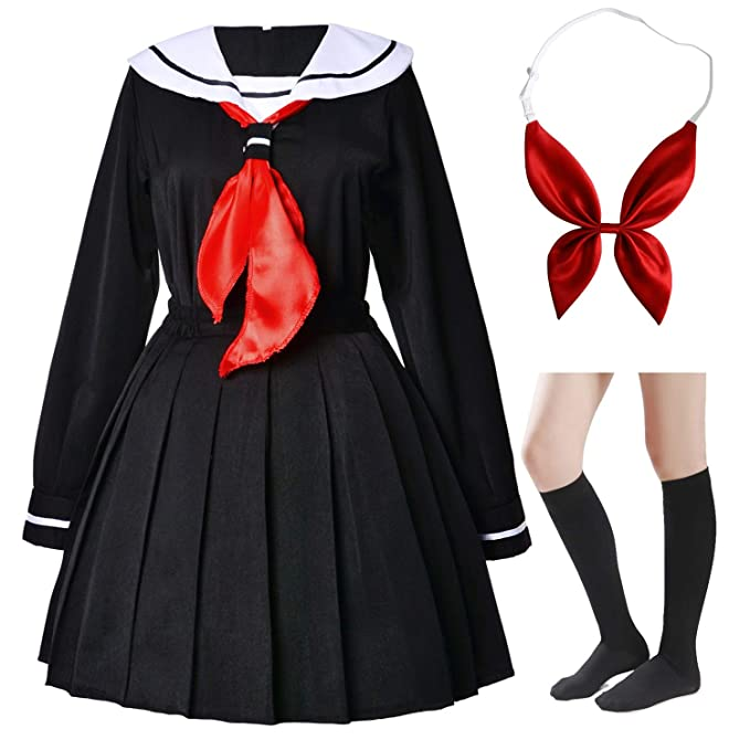 Amazon.com: Conjunto de uniforme de anime japonés para la ...