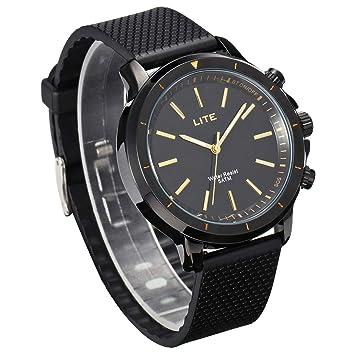 Reloj Inteligente Impermeable, GOKOO LITE Smartwatch SOS Tracker Reloj Deportivo a Prueba de Agua Para