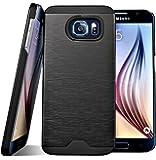 Galaxy S6 Case, Bomea [Non-Slip] [Perfect Fit] Galaxy S6 Case Ultra Slim Premium Protector Hard Cover Case For Samsung Galaxy S6 - AT&T Sprint T-Mobile Verizon Unlocked Versions - Black