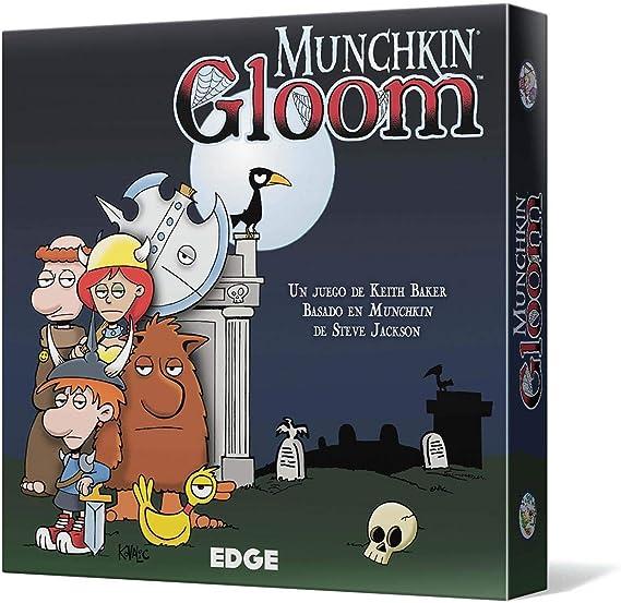 Edge Entertainment- Munchkin Gloom - Español, Color (EEAGGL07): Amazon.es: Juguetes y juegos