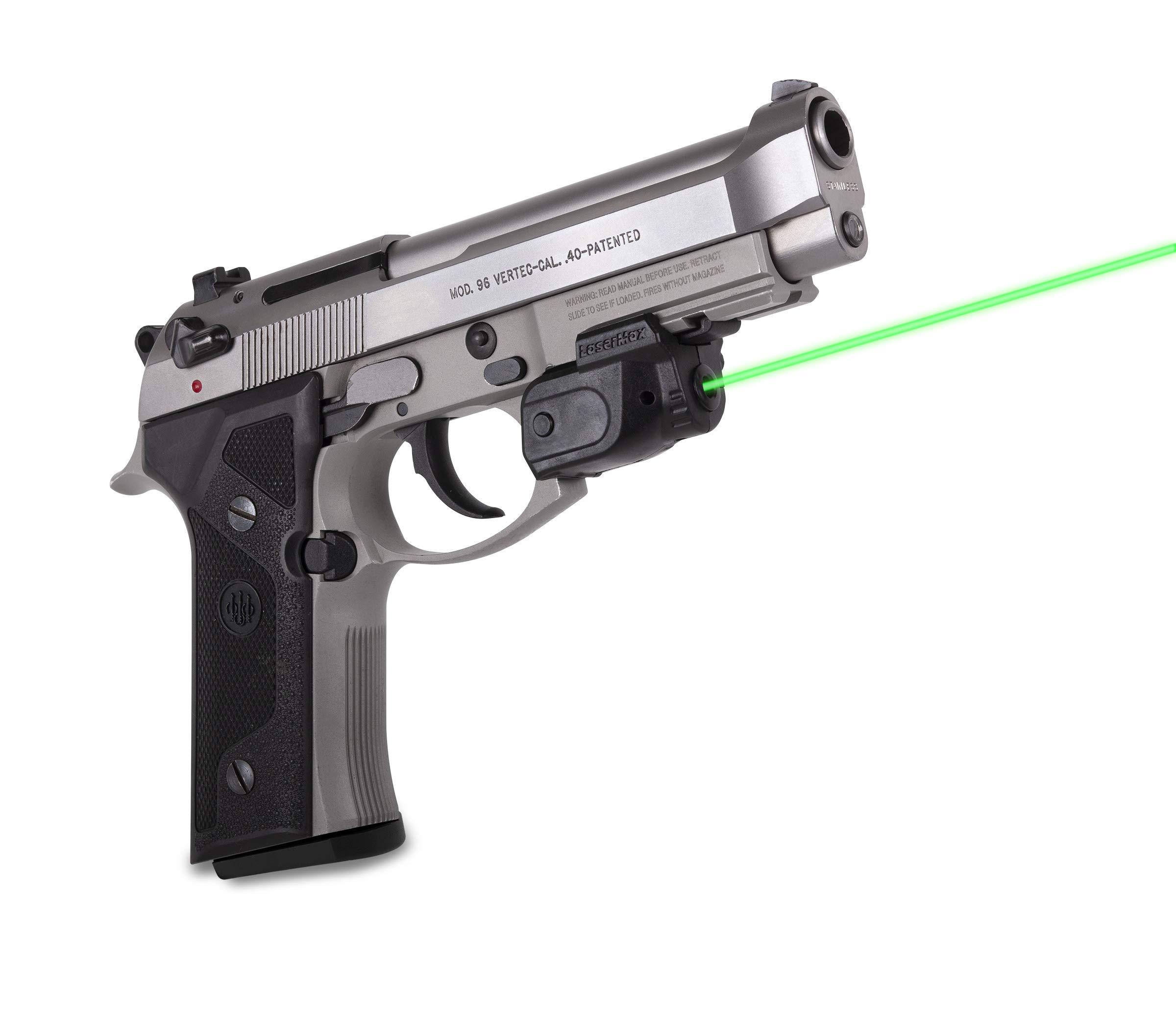 LaserMax Lightning Rail Mounted Laser (Green) GS-LTN-G With GripSense by LaserMax