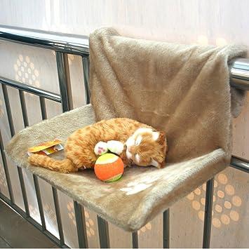 Hoopet® Hamaca Cama de PC Deluxe para gato perro fijo (AU Radiador, escalera, balcón: Amazon.es: Productos para mascotas