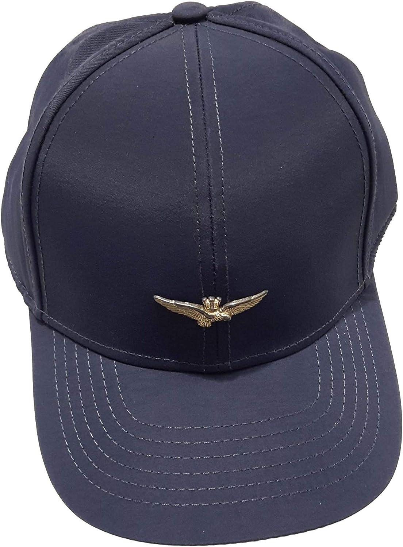 Aeronautica Militare Sombrero de béisbol HA991, Azul Marino ...