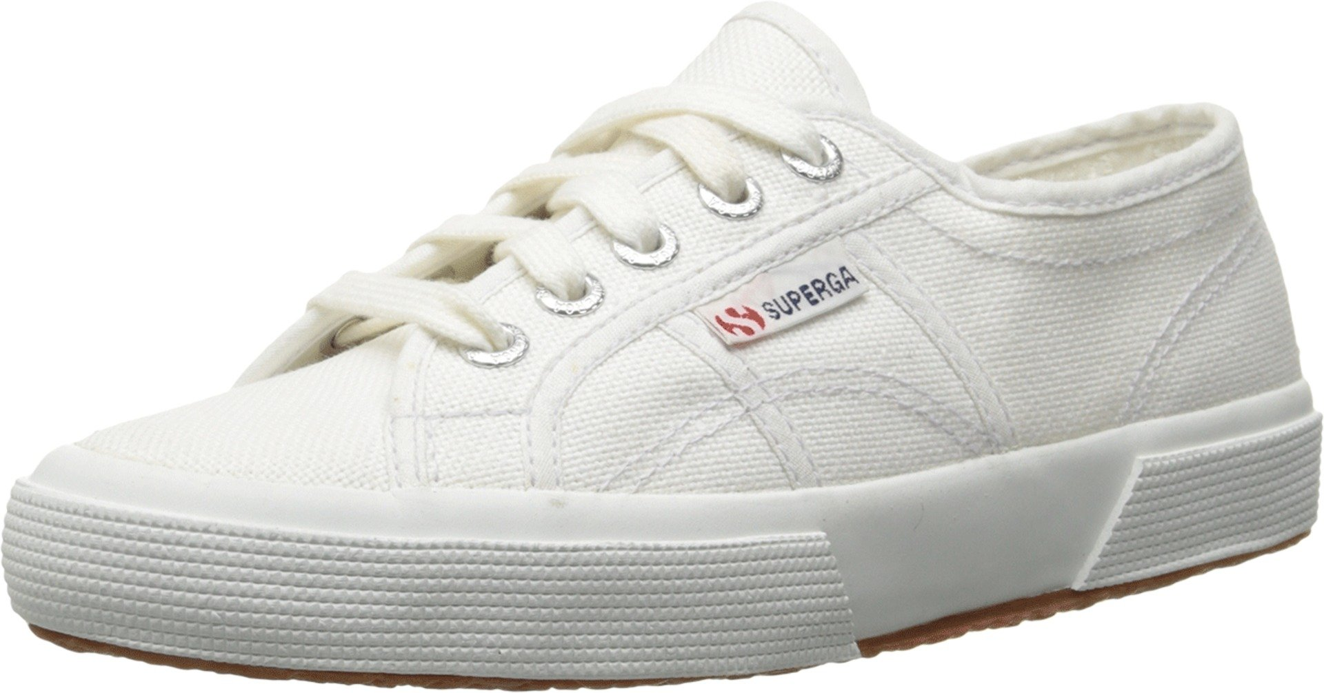 Superga Kids' 2750 JCOT Classic (Toddler/LK), White, 29 EU/ 11 US