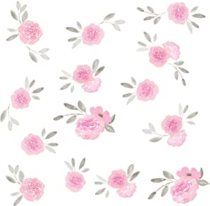 WallPops WPK2458 May Flowers Wall Art Kit, Pink