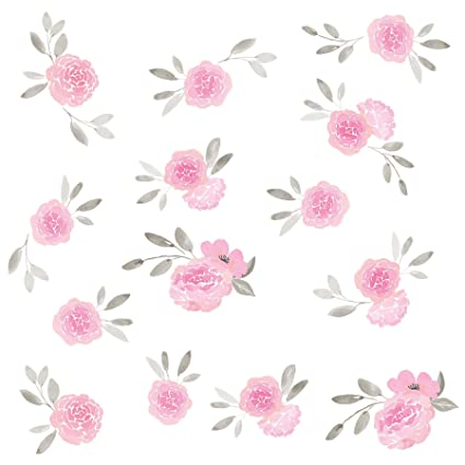 WallPops WPK2458 May Flowers Wall Art Kit, Pink - - Amazon.com