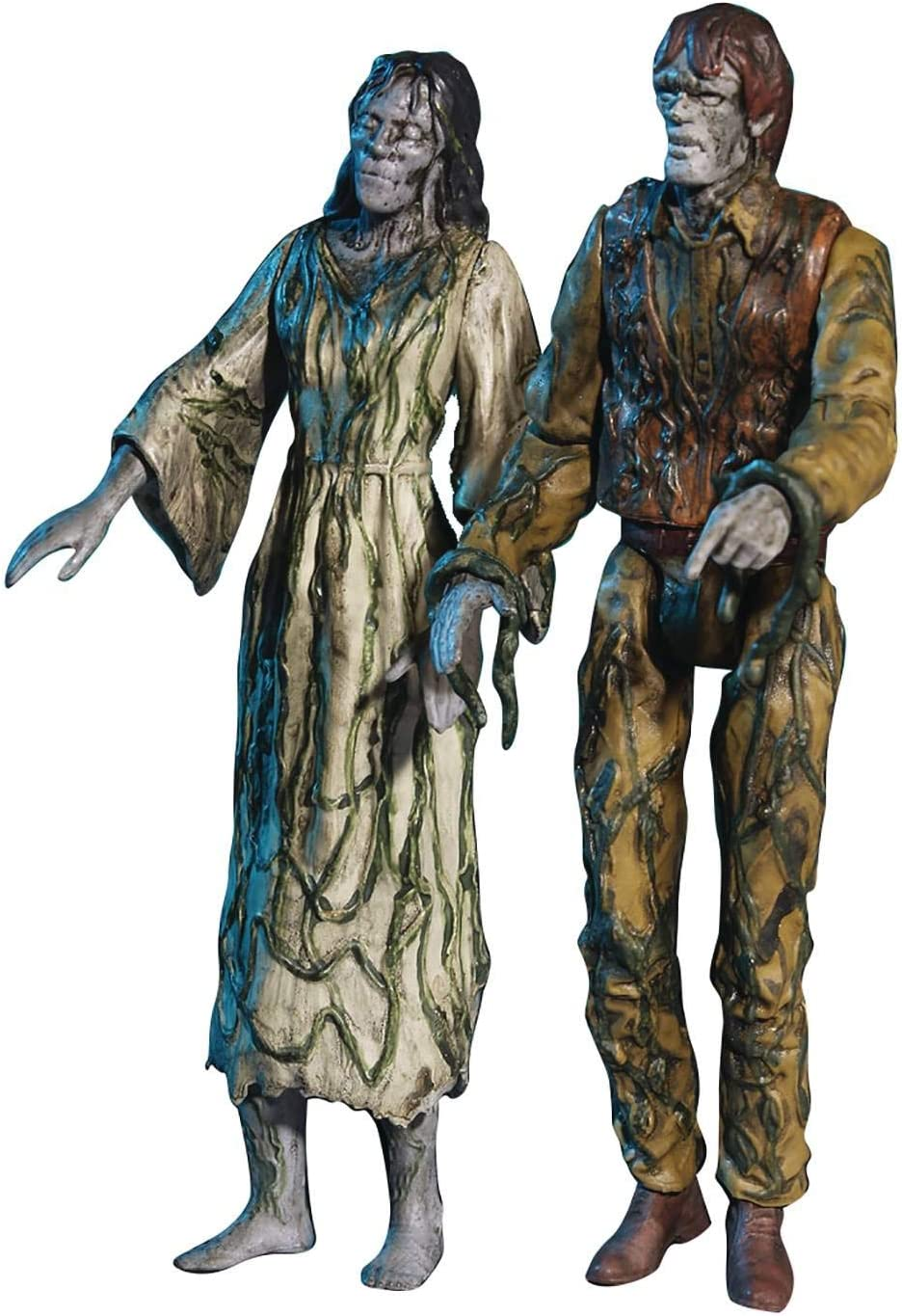 """Monstarz Creepshow Something to Tide You Over 3.75"""" Scale Retro Action Figure 2 Pack"""