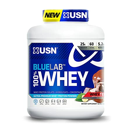 USN BlueLab 100 Percent Whey, 4.5 Pounds, Wheytella