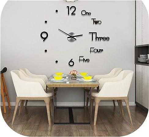Wall Clock Kids Nursery Room,Teens Room Owl Hand Drawing 3 Wall Clock